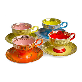 Grandma Espresso Set - Set of 4