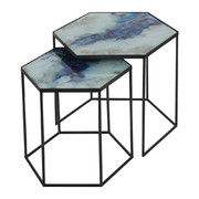 hexagonal-side-table-set-cobalt-mist