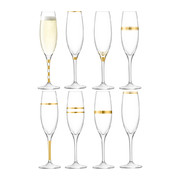 deco-assorted-gold-champagne-flutes-set-of-8