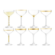 deco-assorted-gold-champagne-saucers-set-of-8