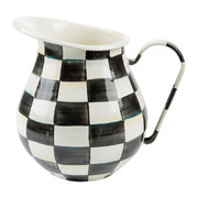 courtly-check-enamel-pitcher