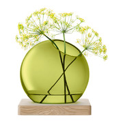 axis-vase-ash-base-olive-green-large