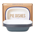 Falcon - Pie Dishes - Set of 4 - Pigeon Gray
