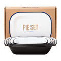 Falcon - Pie Set - Coal Black