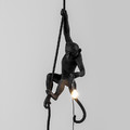 Seletti - Monkey Ceiling Lamp - Black