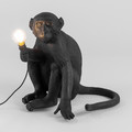 Seletti - Monkey Lamp - Sitting - Black