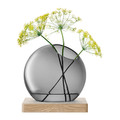 LSA International - Axis Vase & Ash Base - Grey - Large