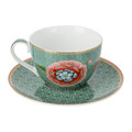 Pip Studio - Spring To Life Cappuccino Cup & Saucer - Green