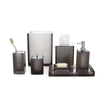Hollywood Smoke Bathroom Accessory Set