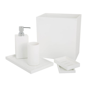 Lacquer Bathroom Accessory Set