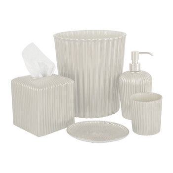 Reve D'une Princesse Pearl Grey Bathroom Accessory Set