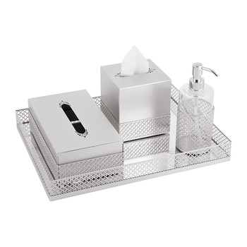 Firenze Chrome Bathroom Accessory Set