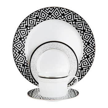 Addison Tableware  sc 1 st  Amara : black square plate set - pezcame.com