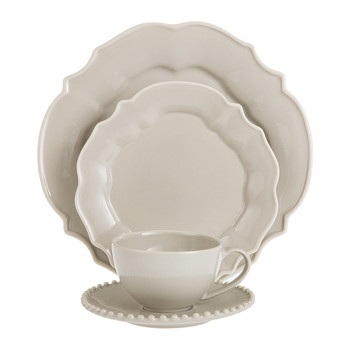Luis Taupe Tableware