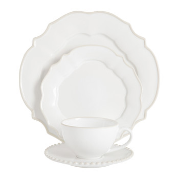 Luis White Tableware