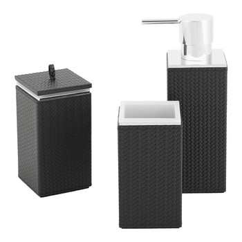Charles Street Bathroom Collection - Black