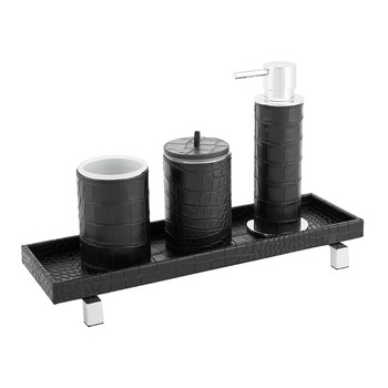 Pampelonne Bathroom Collection - Black