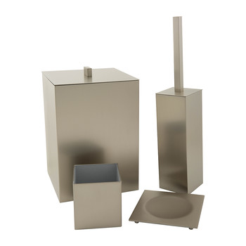 Satin Nickel Bathroom Accessory Set