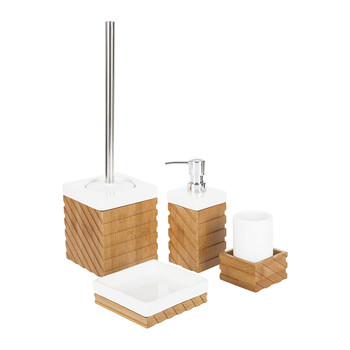 Woods Bathroom Accessory Set