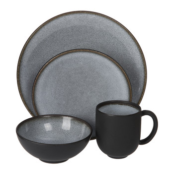 Tourron Grey Tableware