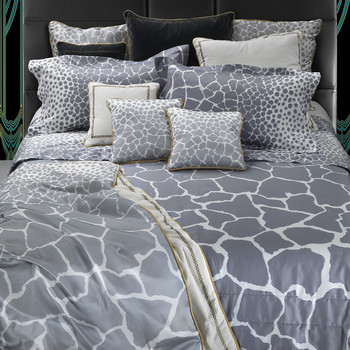 Jerapah Bed Linen - Grey