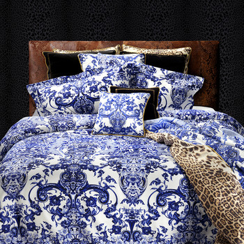 Azuleyos Bed Linen - Blue