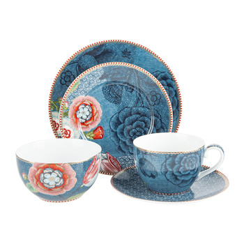 Spring To Life Blue Tableware