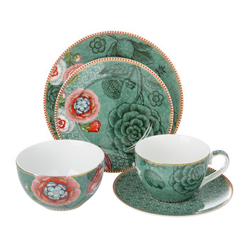 Spring To Life Green Tableware