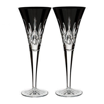 Champagne Glasses & Saucers