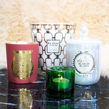 Christmas Candle Holders & Fragrance