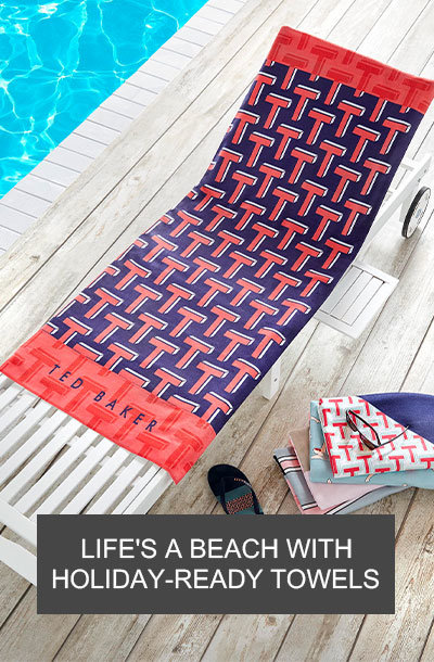 designer beach towels and more