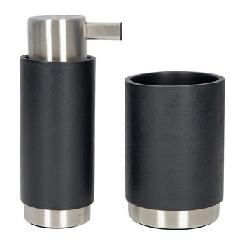 Ara Anthracite Bathroom Accessory Set