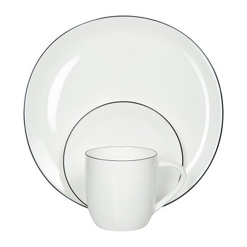Black Rim Tableware