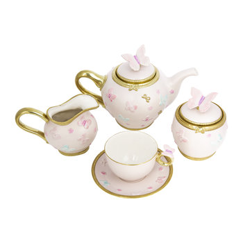Butterfly Tea Set – Baby Rose