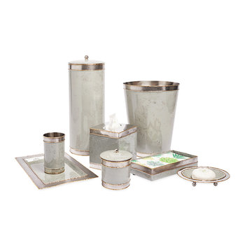 Cascade Mist Bathroom Accessory Set