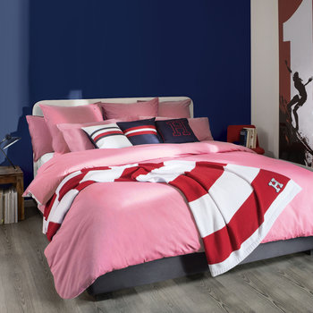 Chambray Pink Bed Linen