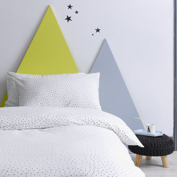 Children's Speckle Indigo Bed Linen