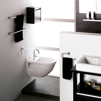 Chrome Bathroom Accessory Set