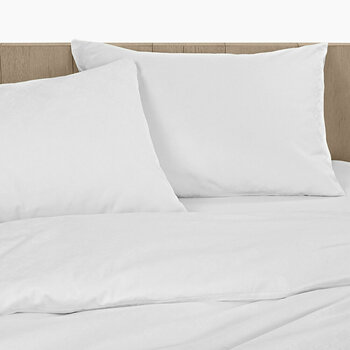 CK ID White Bed Linen