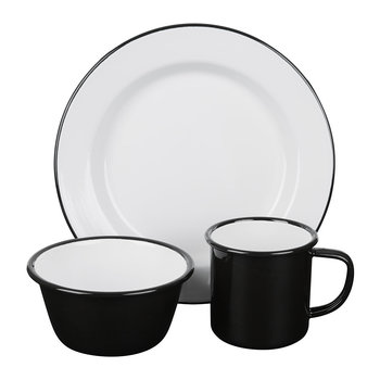 Coal Black Tableware Collection