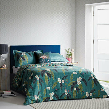 Coppice Peacock Bed Linen