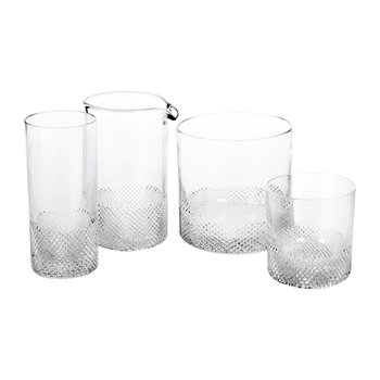 Diamond Glassware Collection