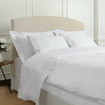 Five Row Bed Linen Collection - White