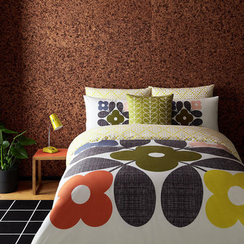 Flower Tile Bed Linen