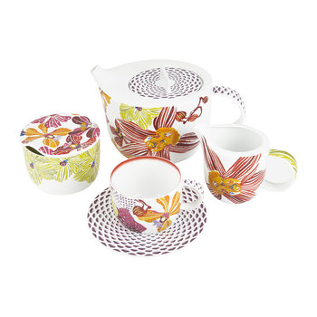 Flowers Tea Set