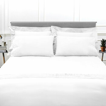 Furness Bed Linen Collection - White