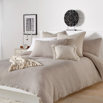 Geo Jersey Knit Bed Linen Collection