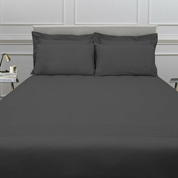 Grafton Bed Linen Collection - Charcoal