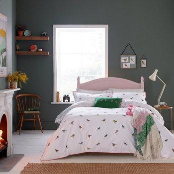 Great British Birds Chalk Bed Linen
