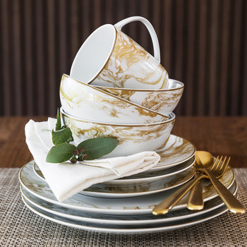 Gunnison Gold Tableware